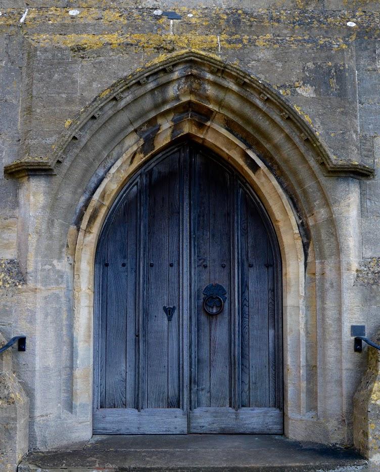 Doorway, Cotswolds, England