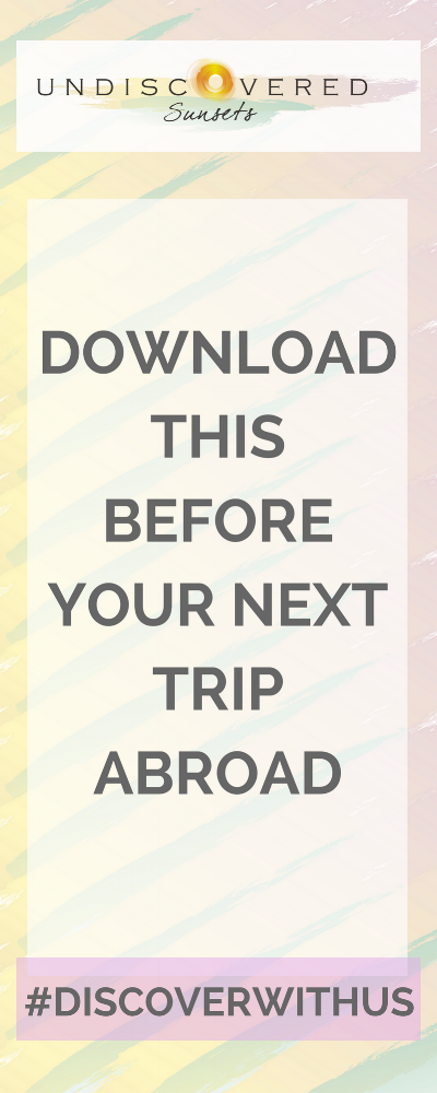 Downloading offline maps is super simple. We've outlined the steps here to get you started and we also created a PDF version that you can download and print off for future reference!