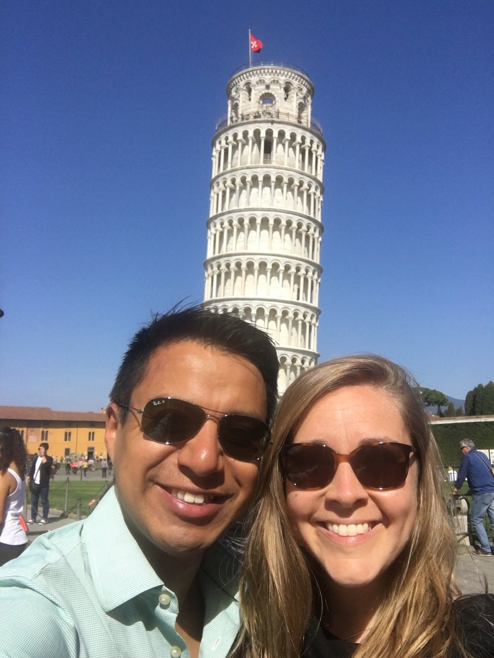 Exploring Pisa on our own for the day.
