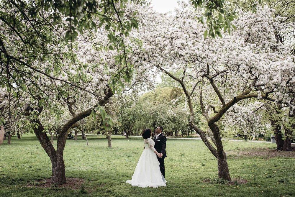 Queens Botanical Garden Wedding
