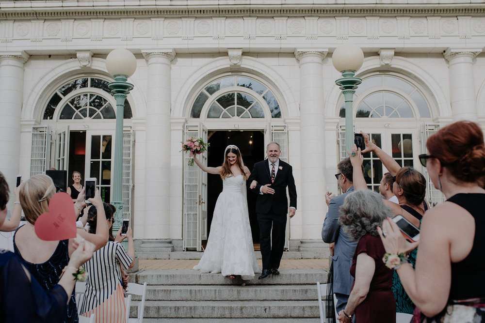 Prospect Park Boathouse Brooklyn Wedding