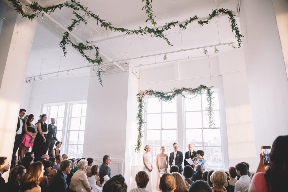 Ramscale Loft Wedding NYC