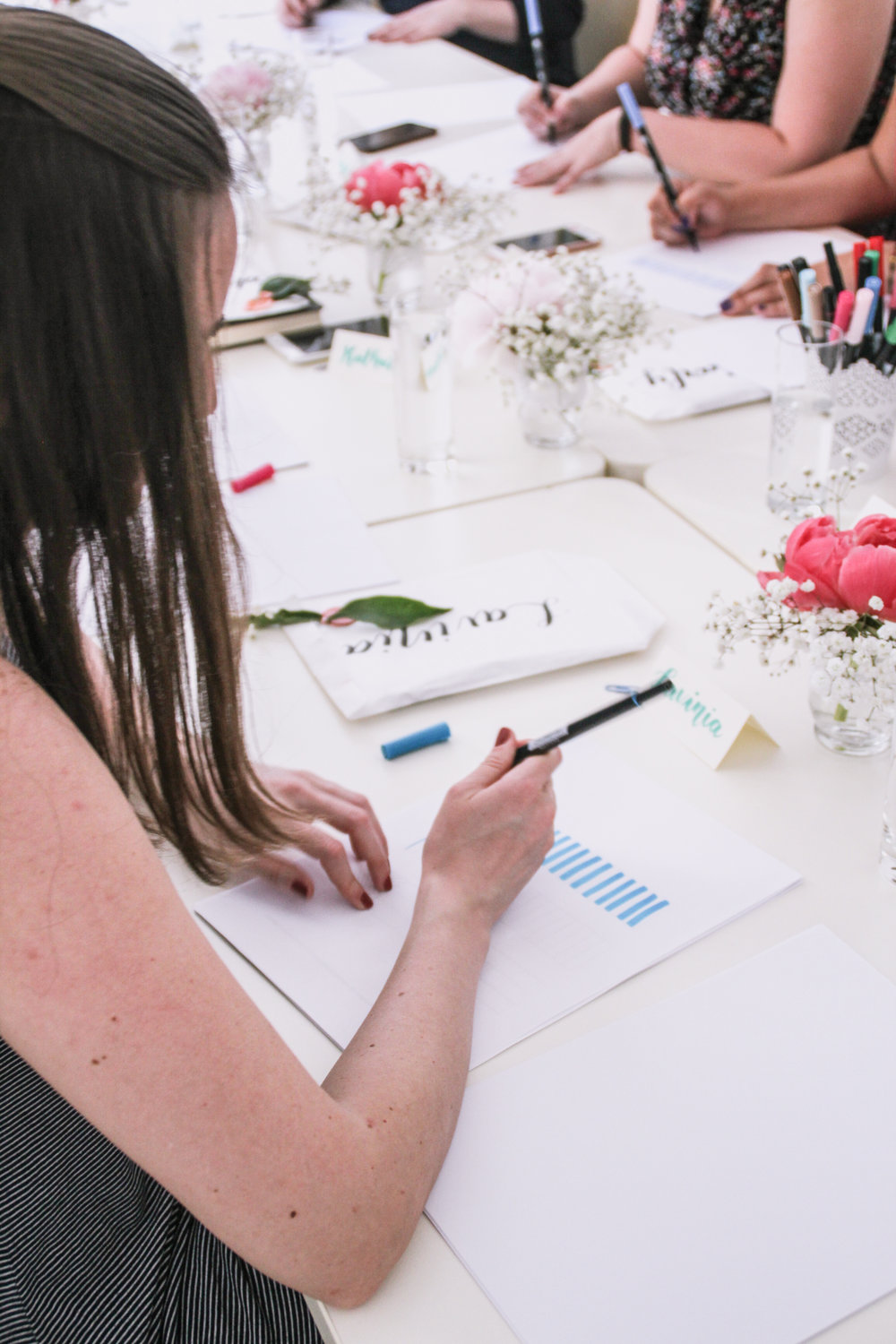 Lettering and Brush Calligraphy Workshop