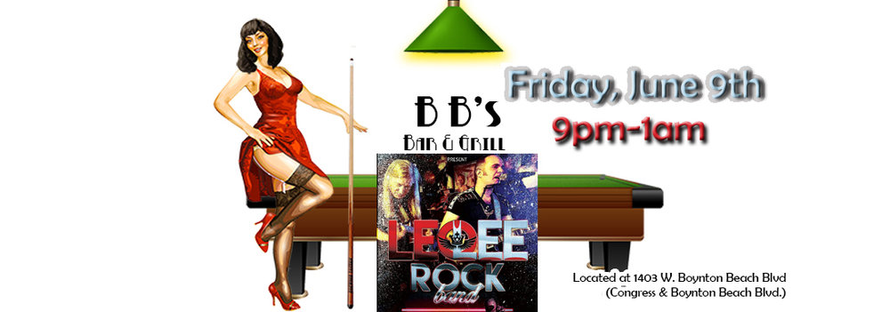 Come get rocked by the Leo Lee Rock Band!
