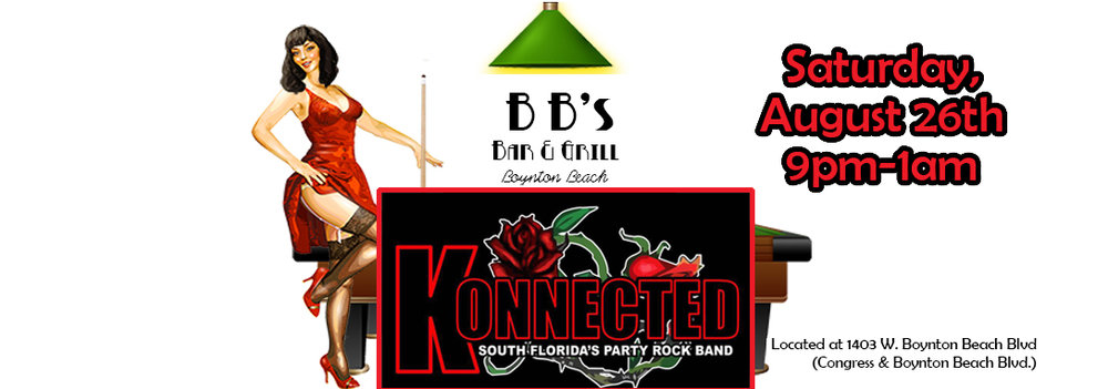 South Florida's Party Rock Band back at BB's!