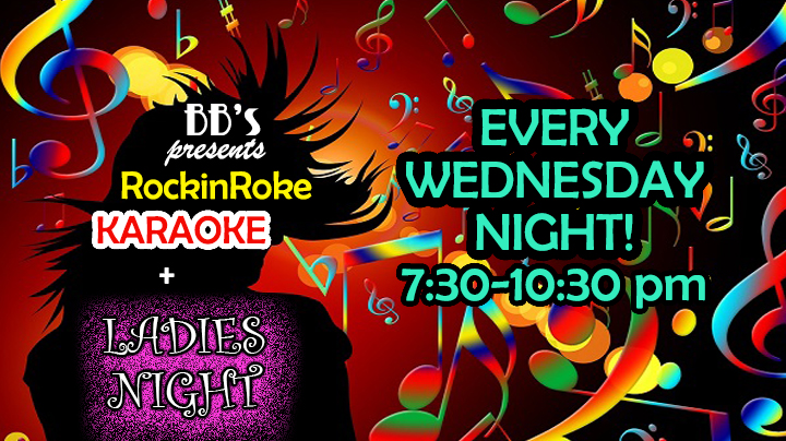 Karaoke with Tom & Nicole is back every Wednesday from 7:30-10:30pm.  It's also ladies night, so half off well drinks and $1 off wine!! Awesome food and a great way to spend your hump day!! See u there!!