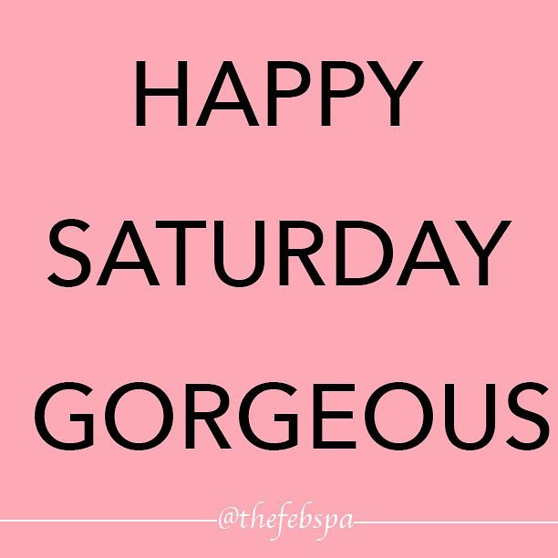 Its Saturday the weather is perfect. What more can you ask for😚