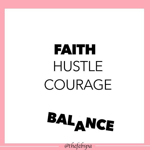Faith should always be at the top of your list and balance should hold it all together. Be coragerous and hustle. Thats when everything manifest. Be thankful and happy sunday Book:www.thefebspa.com #VeganFacials #facials #organic #LashesAtlanta #VolumeLashes #lashesatlanta  #eyelashextensions  #atlantaeyelashextensions #febspa  #febbeauty  #thefeb  #spa  #faceeyebody  #seedtoskin #wellness #skincare #beauty #natural