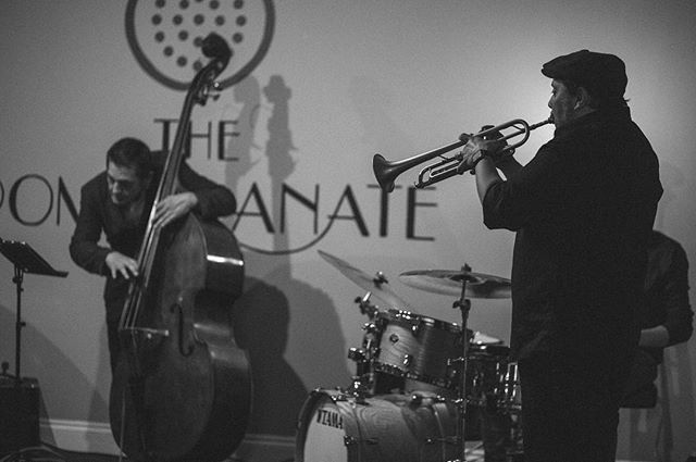 Tonight! The Jonathan Crespo Quartet play live from 8:30pm for #ThePomSessions 🍷🎺 2-4-1 Cocktails 5-8pm! #Cardiff #LiveMusic #Jazz #Blues #Swing #Cocktails #Coffee