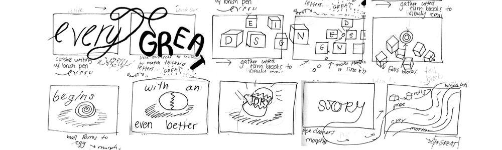 Design Story - Storyboard
