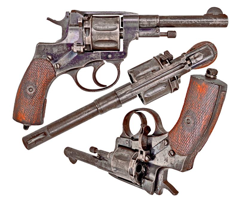 Revolver Round-Table: Nagant M1895 — Gorilla Surplus Blog