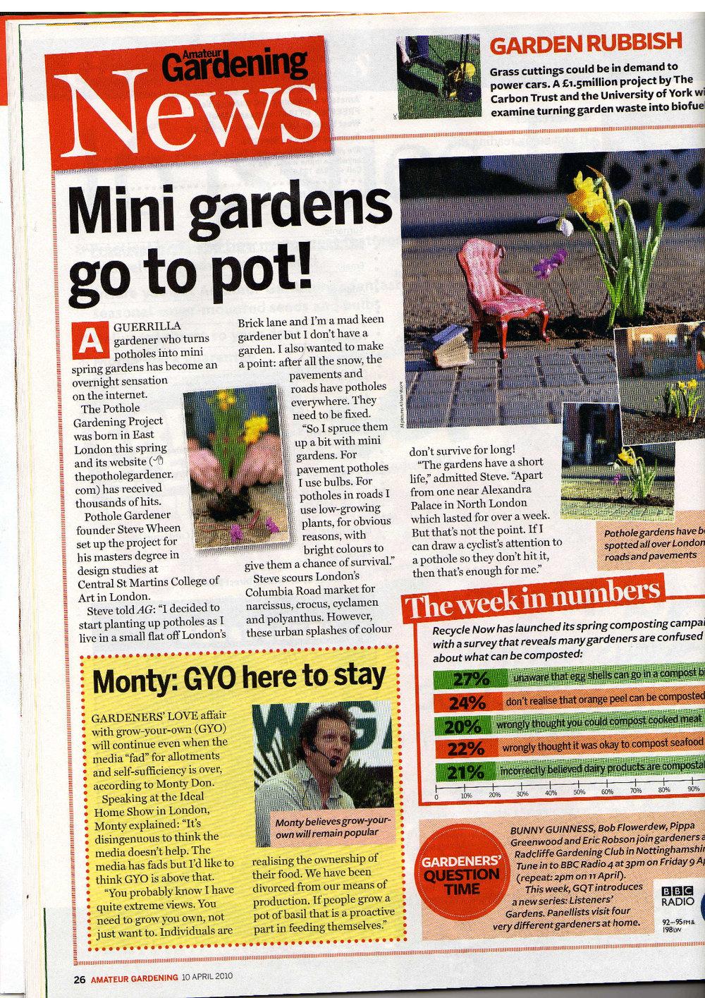 Amateur Gardener Magazine