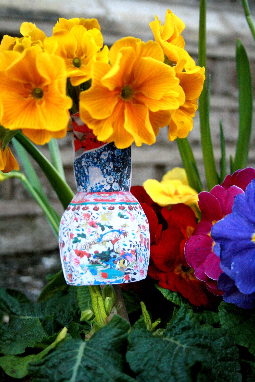 Mary Katrantzou Pothole garden fashion week