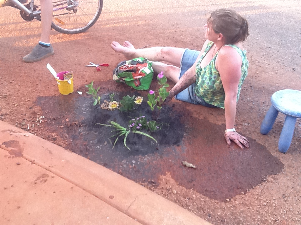 Pothole gardening submitted photo Western Australia