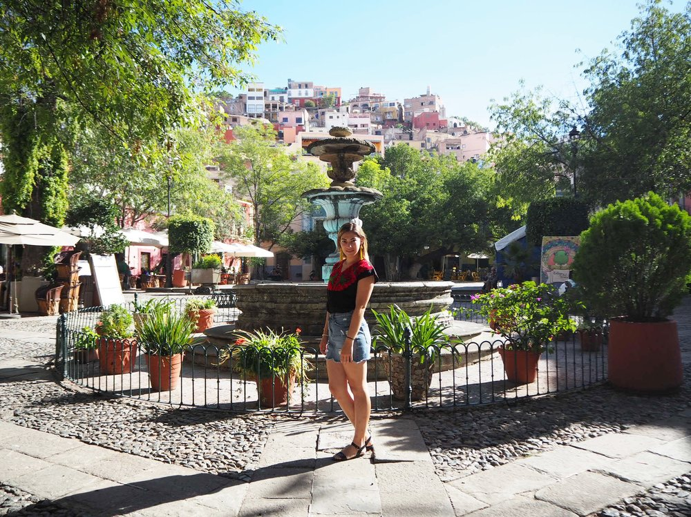 Guanajuato City.