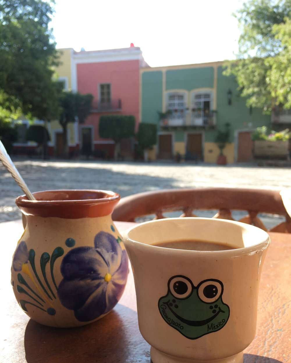 Cafe de Olla in Guanajuato.