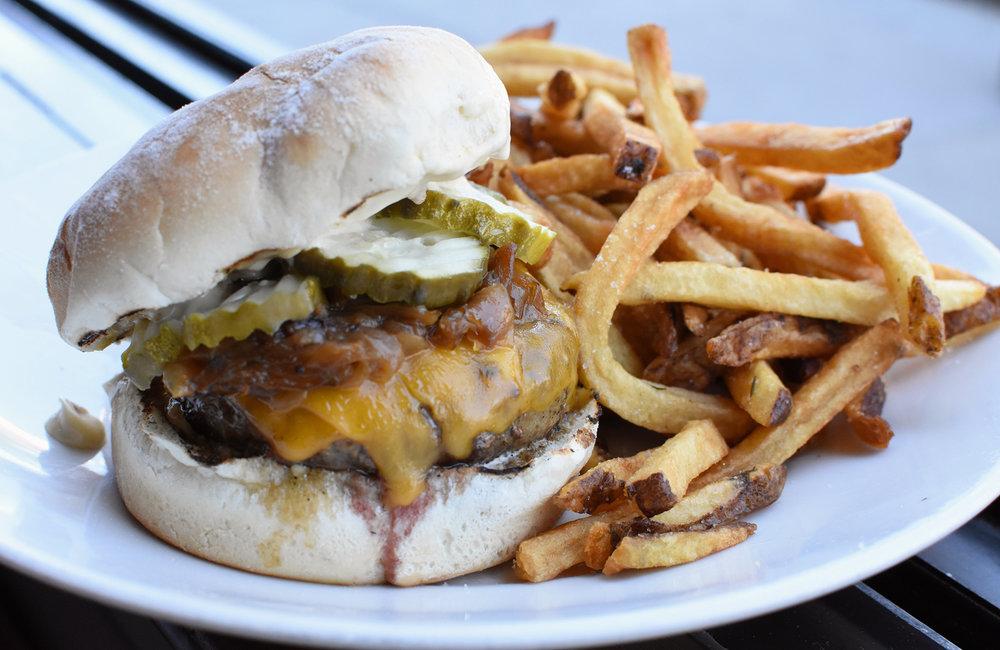 Burger - Lincoln Tavern - Boston, MA