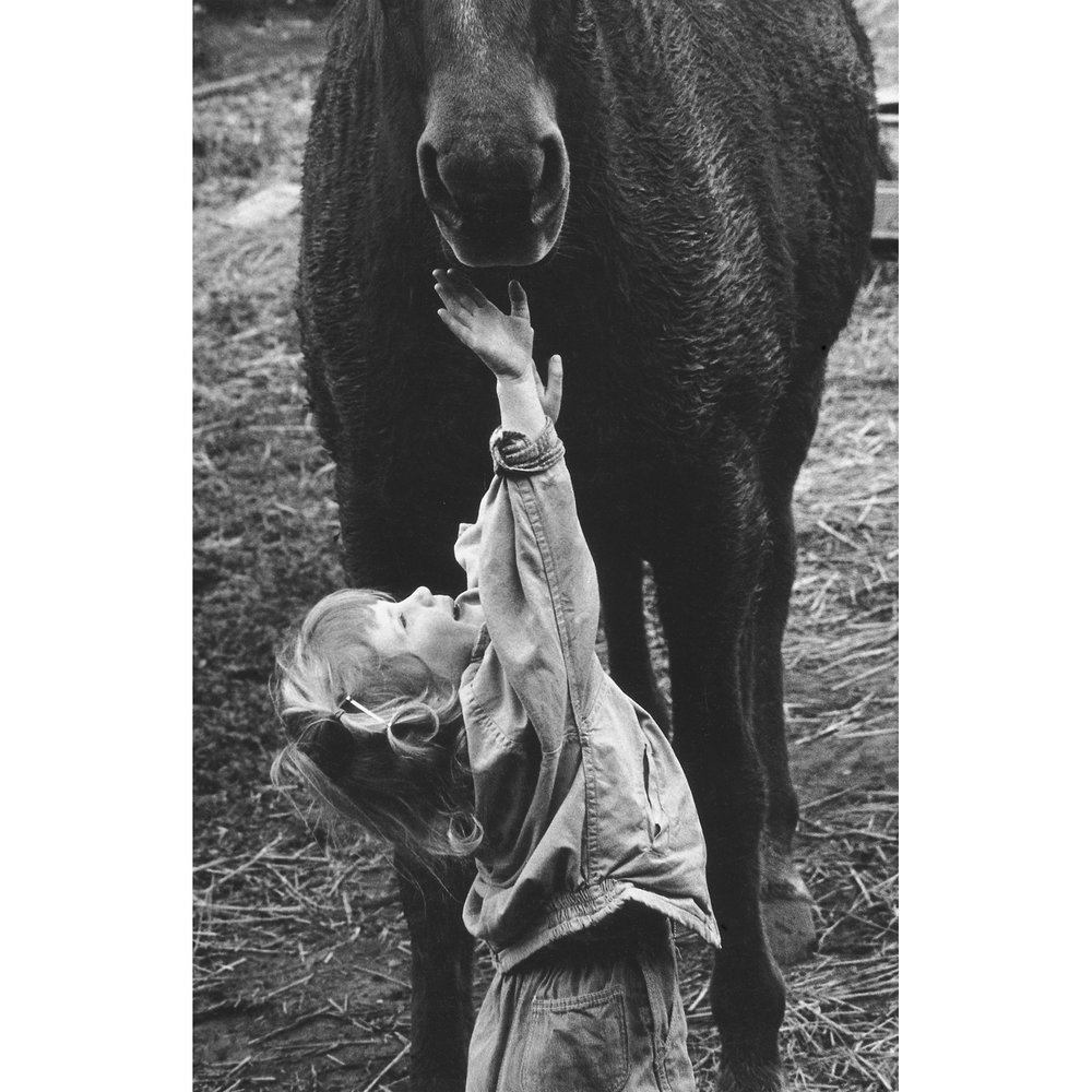 Meg Reaching, late 1950s.jpg