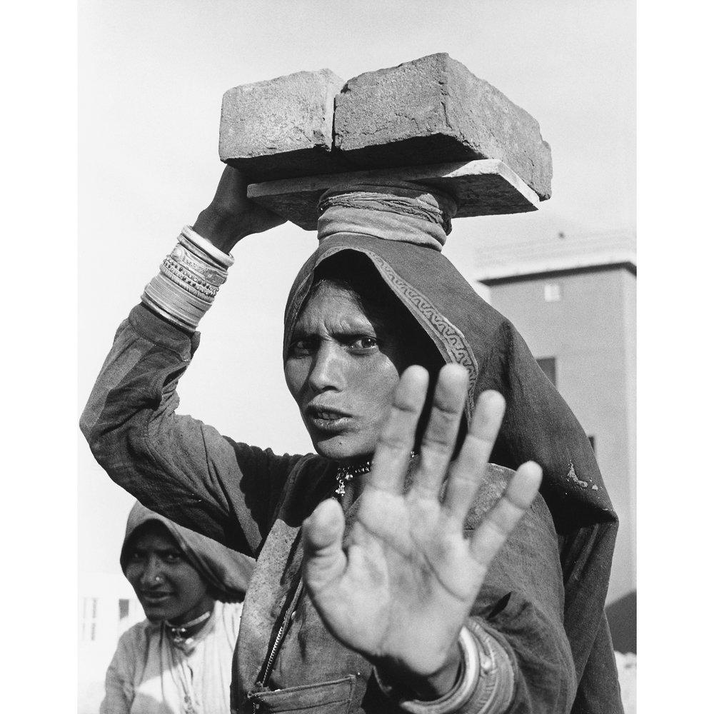 Brickyard Worker, New Dehli, 1962.jpg