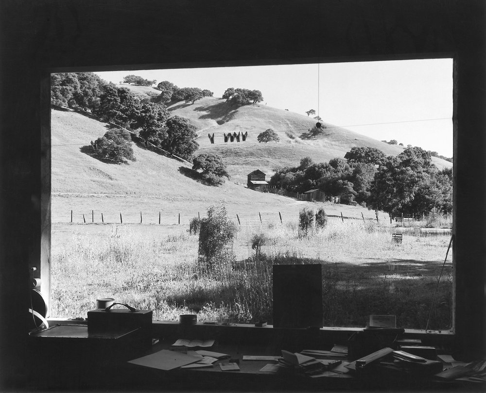 View from My Studio, Bear Creek, California, late 1950s.jpg