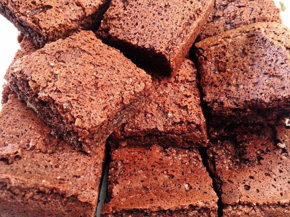 Dairy Free Gluten Free Brownies