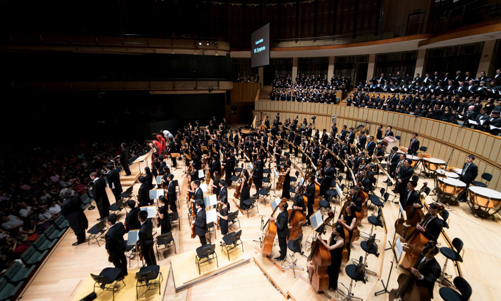 2015 - OMM performs Mahler Symphony No. 8, as a gift in celebration of Singapore's 50th birthday