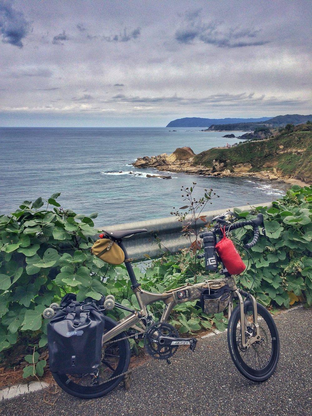Graphite Birdy Folding Bike Touring Upgrades Folding Tales