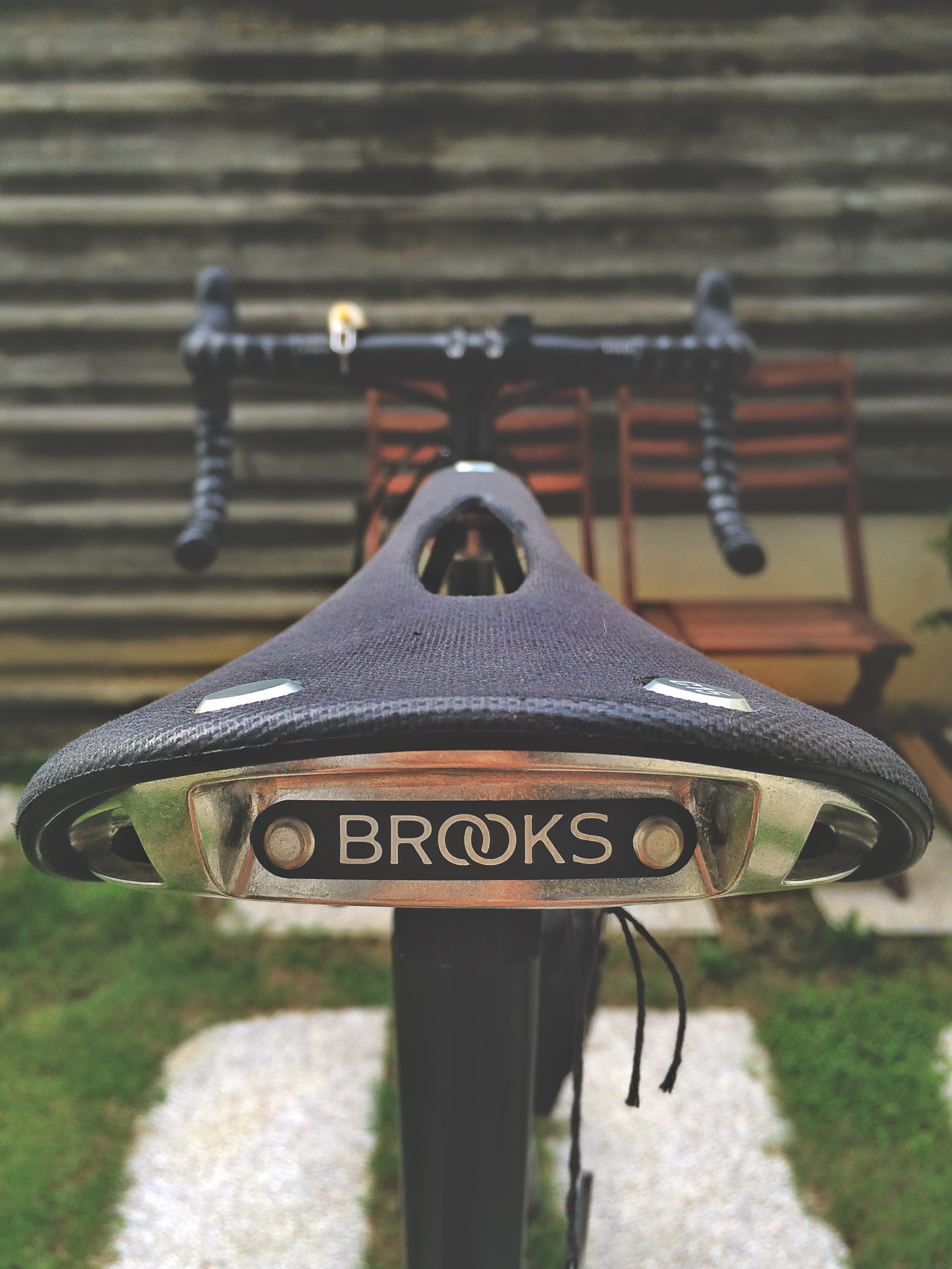 Brooks Cambium C17 Carved All Weather Saddle Natural Steel Rails