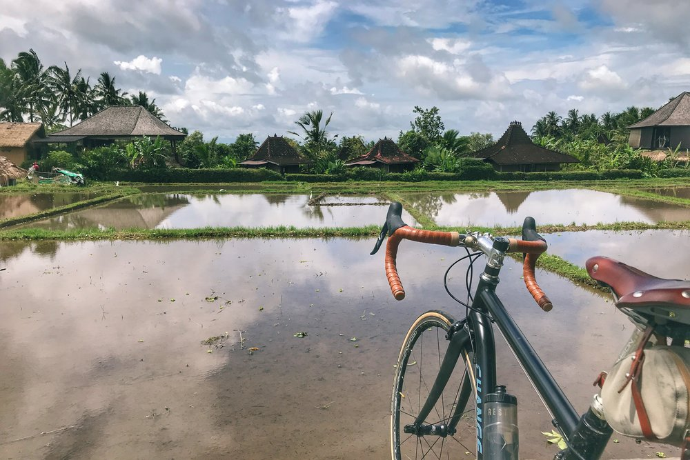 Cycling The Bali Countryside Folding Tales