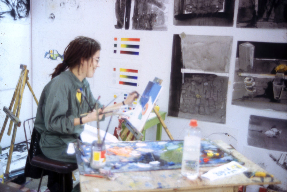 Art School kid back in the day...