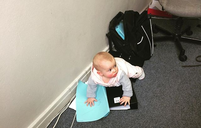 Our filing clerk still needs some training... #attorney_cpt  #capetown  #mothercity  #babiesofinstagram