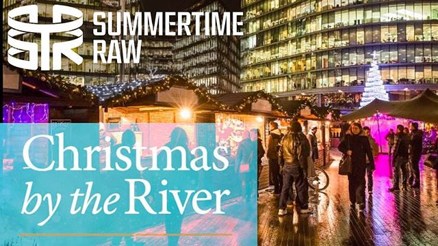 Who's been to #christmasbytheriver? WE HAVE! Check out our latest vlog here 👉 https://youtu.be/amtPVlB6gAc (LINK VIA BIO) #christmas #Christmasmarket #london #londonbridge @londonBridgecity #towerbridge #Christmasiscoming  #allthingschristmas