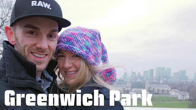 A Vlog of our day in the beautiful GREENWICH PARK! Epic views of London! See link in BIO for VLOG #greenwich #greenwichpark #London #londonview #canarywharf #02 #theshard #dayout