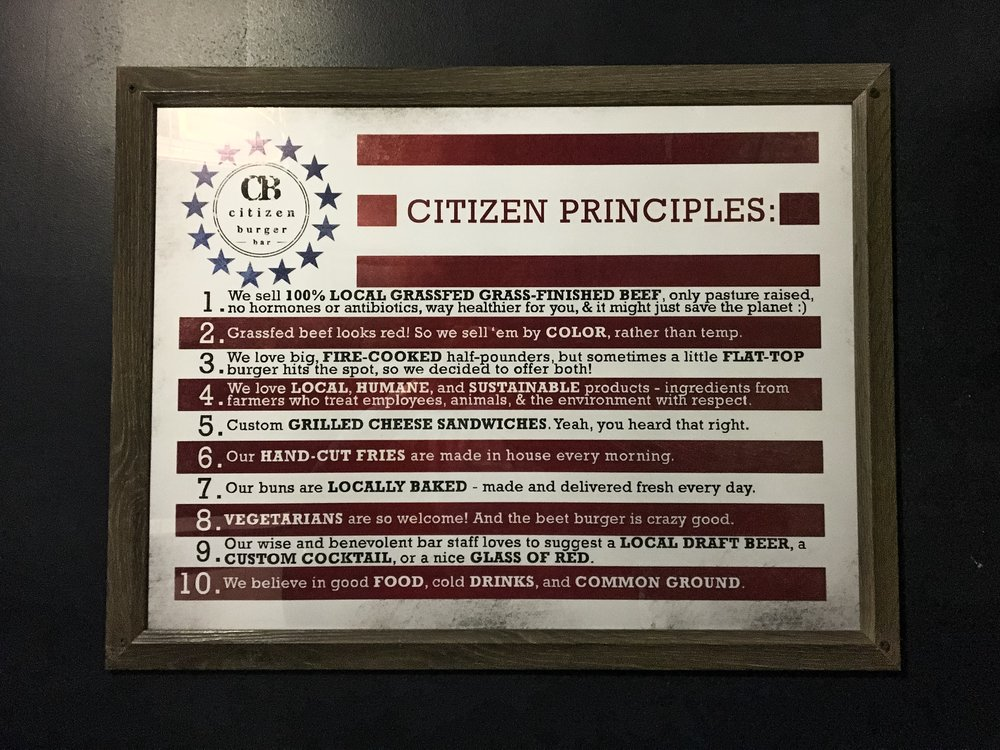 Citizen Principles