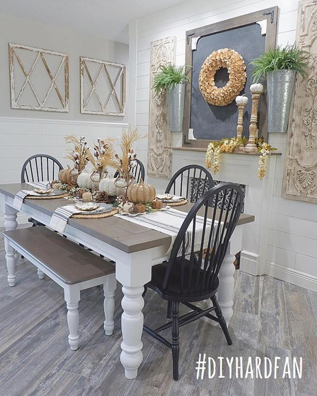 Our #diyhardfan feature this week goes to @ourrusticparadise! Ashley has a gorgeous dining room and it's topped with a great DIY blackboard that she made using scrap materials! Don't you want to make one for yourself? Lucky for you she's got a tutorial for it! 🌸🛠 Thank you so much @diapersanddecor for guest hosting this week and thank you to everyone who participated! Every Wednesday, a winner is featured on all our accounts and invited to guest host with us the next round, so to play along: 1️⃣ post a photo of your DIY project between Wednesday AM and Tuesday night. Don't forget to use #diyhardfan in your posts! 2️⃣ follow ALL your hosts (we check 😜) & to make sure we see your posts, please TAG your hosts: @thecozyhearth @thedefineryco @thewindinghollow @mitchellmadefarmhouse & our featured account @ourrusticparadise 3️⃣ tag some friends to play along! · #decorhashtagfeed