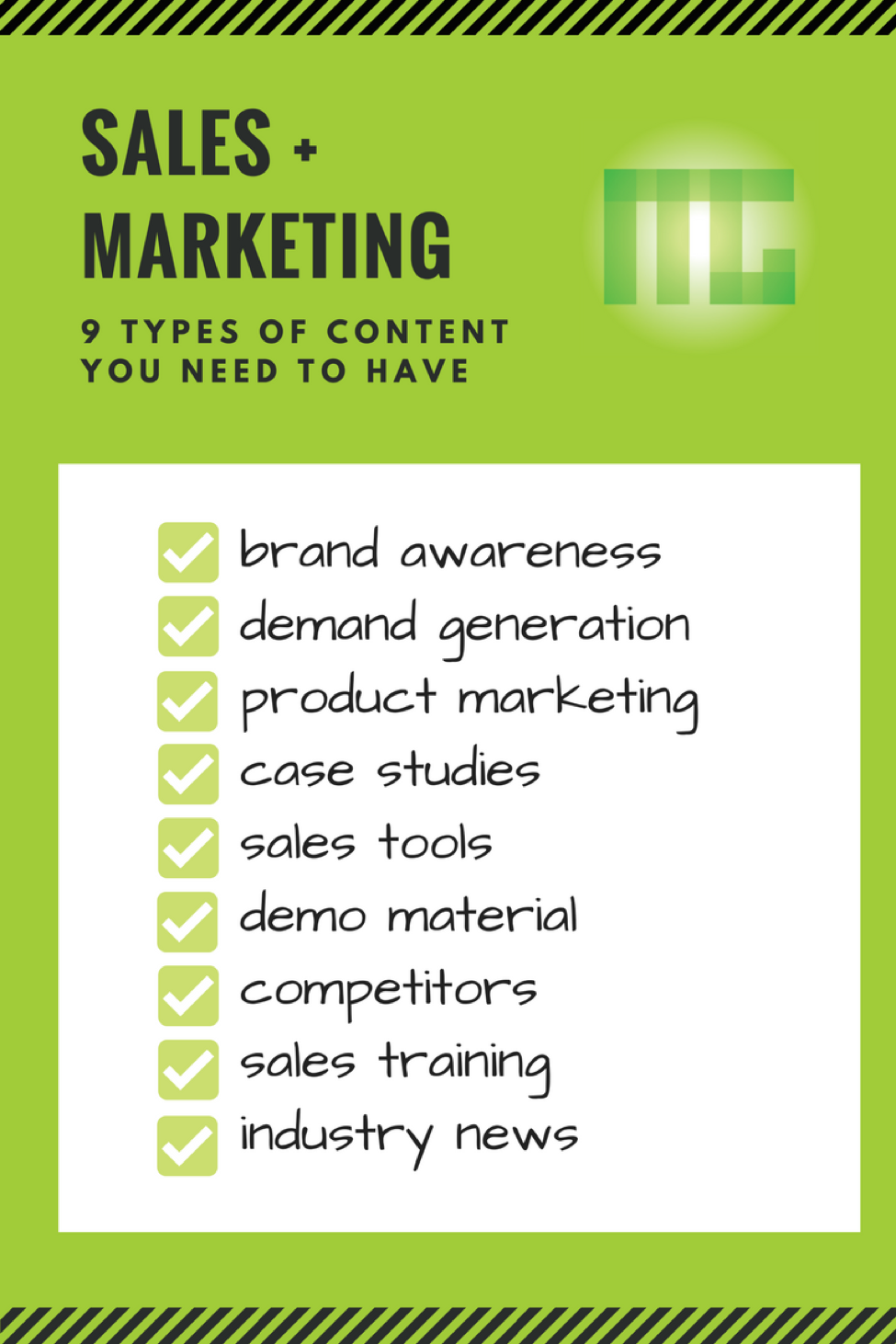 9 Types of SMarketing Content