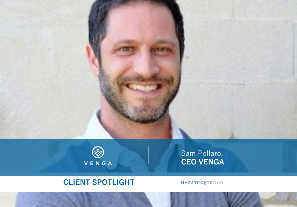 Sam Pollaro, CEO of Venga