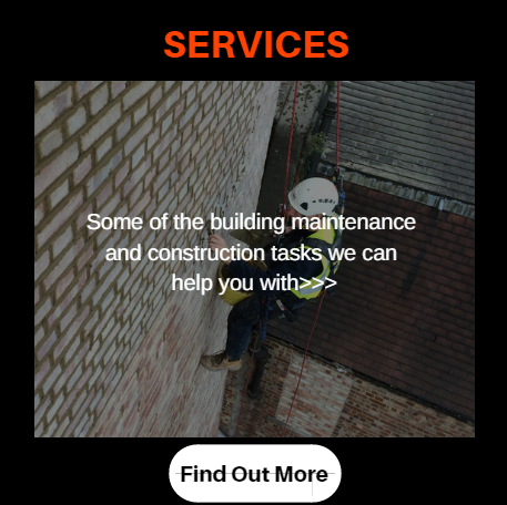 Find out more about our rope access and industrial abseiling services in london