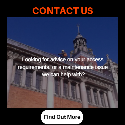 Rope access and industrial abseiling - contact us