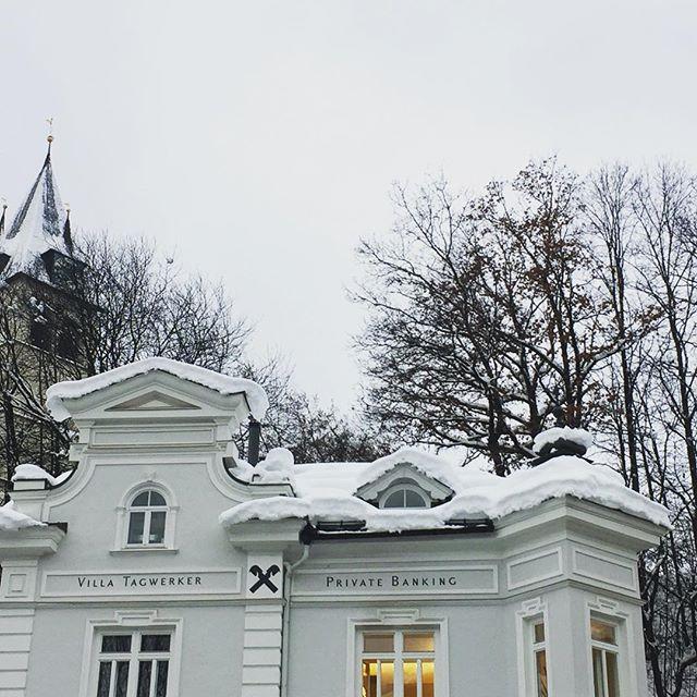 White&White❄️❄️ #classicarchitecture #trimming #snowday