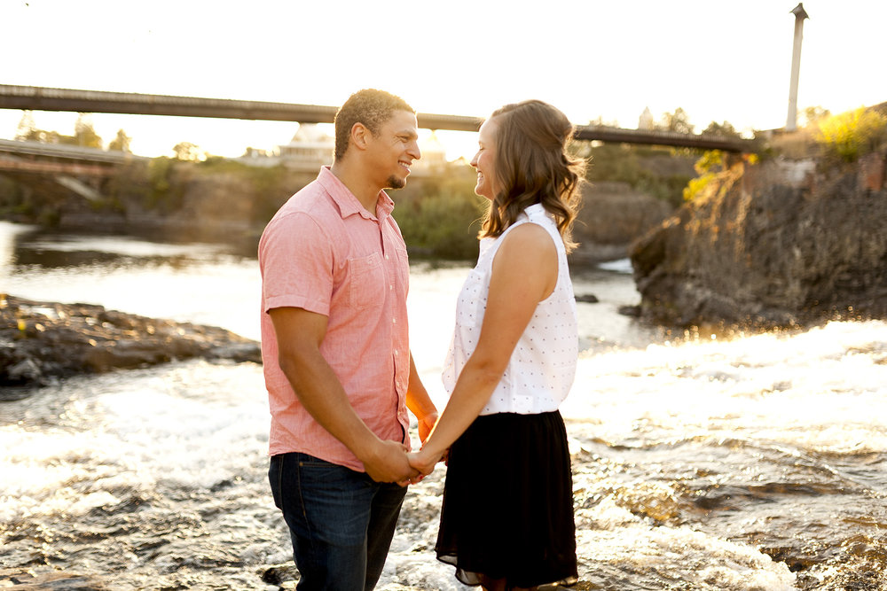 Alex + Lauren Engagement Feature on AppleBrides