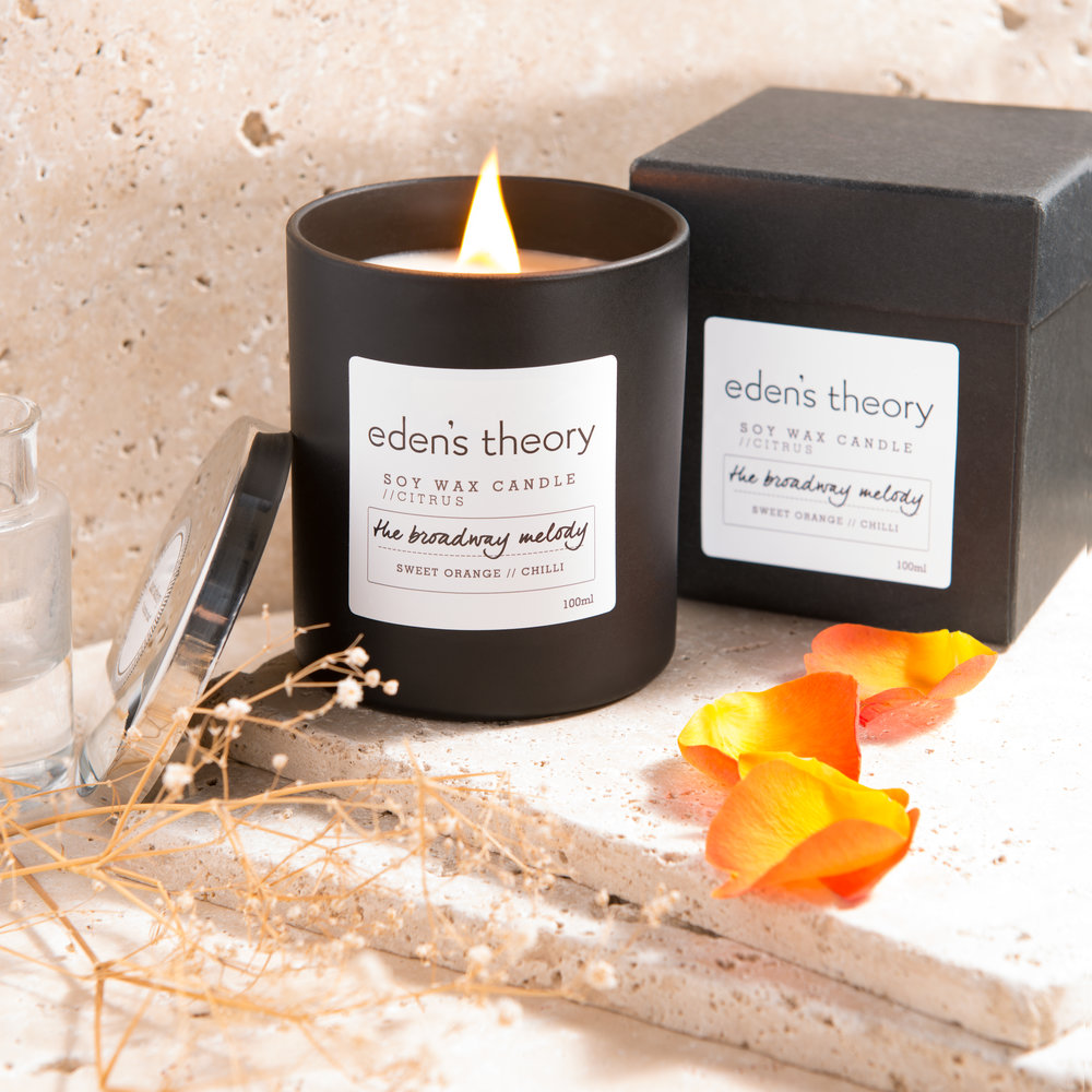 Surround yourself with the scent of Cassis, laced with subtle strands of black pepper, Orange Zest, Bergamot and Neroli. Citrusy and elegant, this fragrance literally bursts as it floats through the air.    Hand poured Soy Wax Candle combining the pleasure of sight, sound and scent with a woodwick which delivers the soothing sound of a crackling fire with a slow, long lasting burn.    Hand poured in England, each 220g candle burns for approximately 50 hours. \\ £30 \\.
