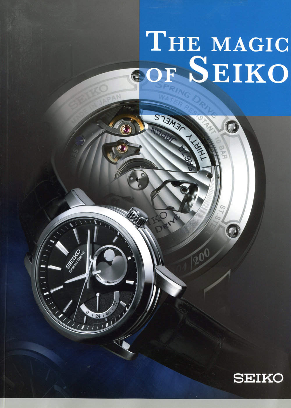 Cover - The Magic of Seiko
