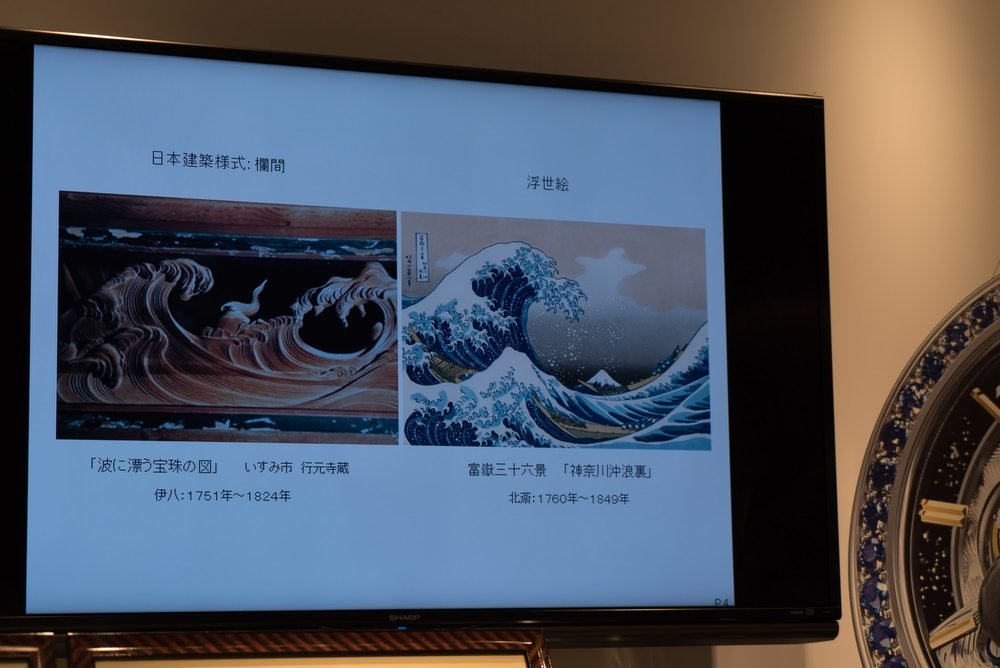 The Great Wave off Kanagawa inspiration