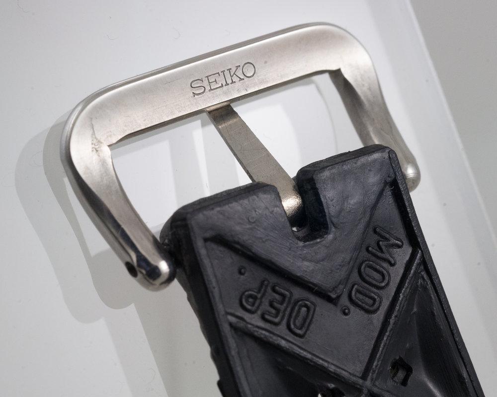 Tropic Buckle Rear Seiko Logo