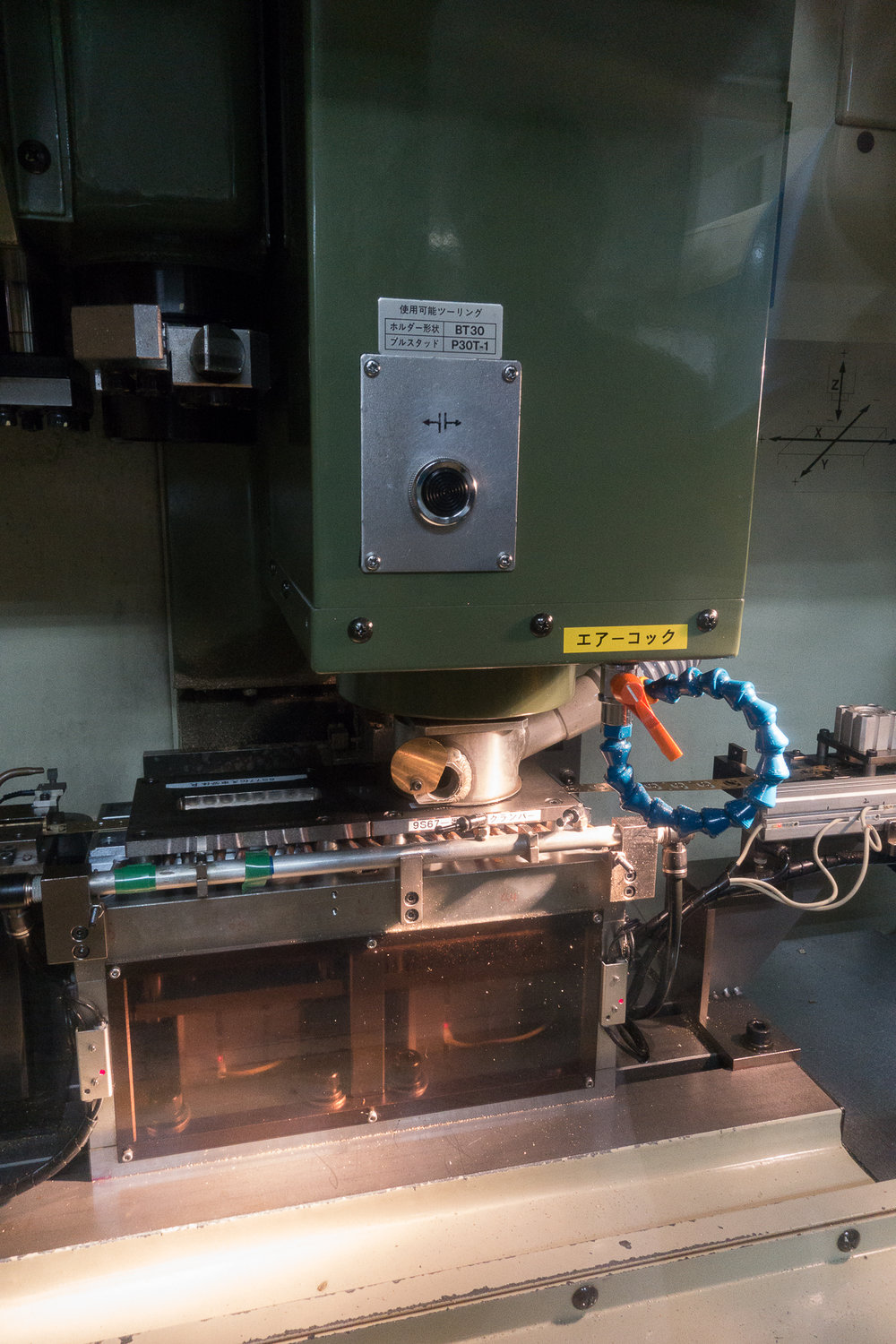 CNC Date Place Machine