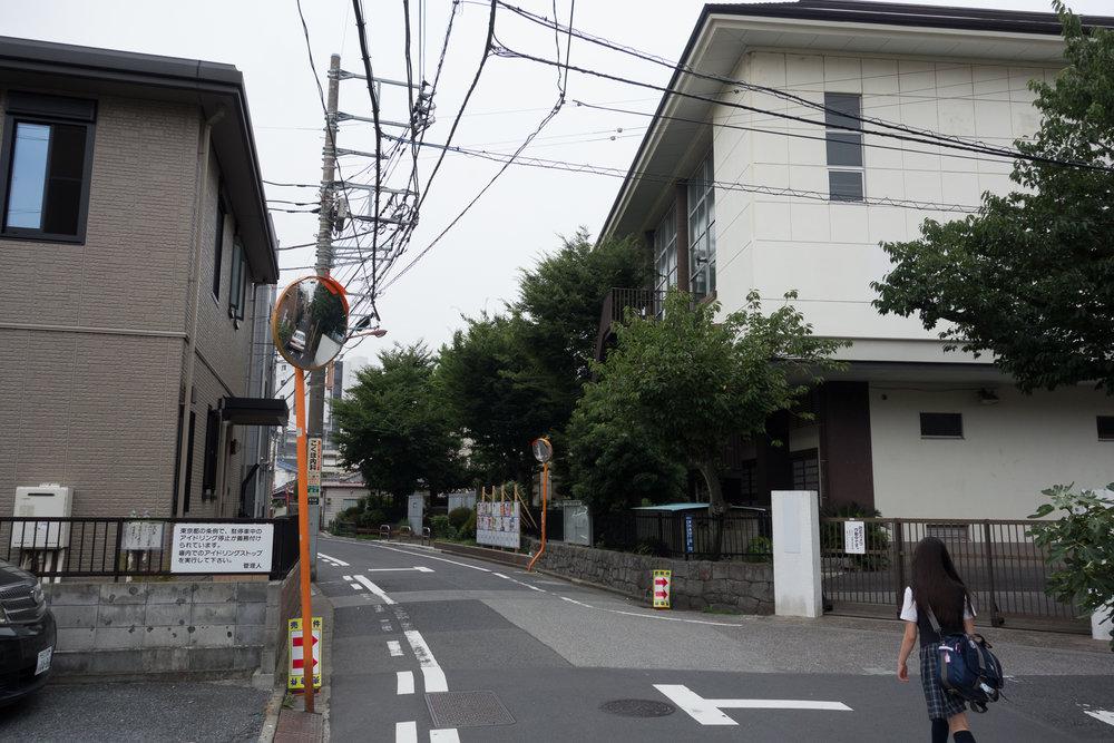 Passing Mukojima Elementary