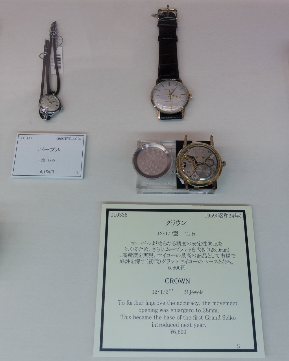 Seiko Crown