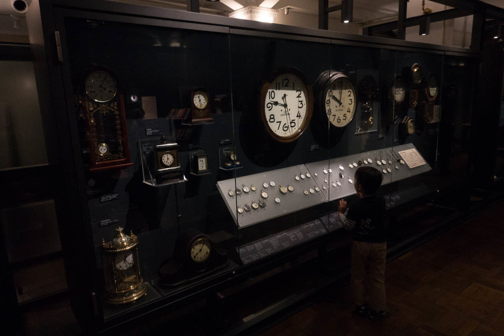 Clock and Watch Exhibit