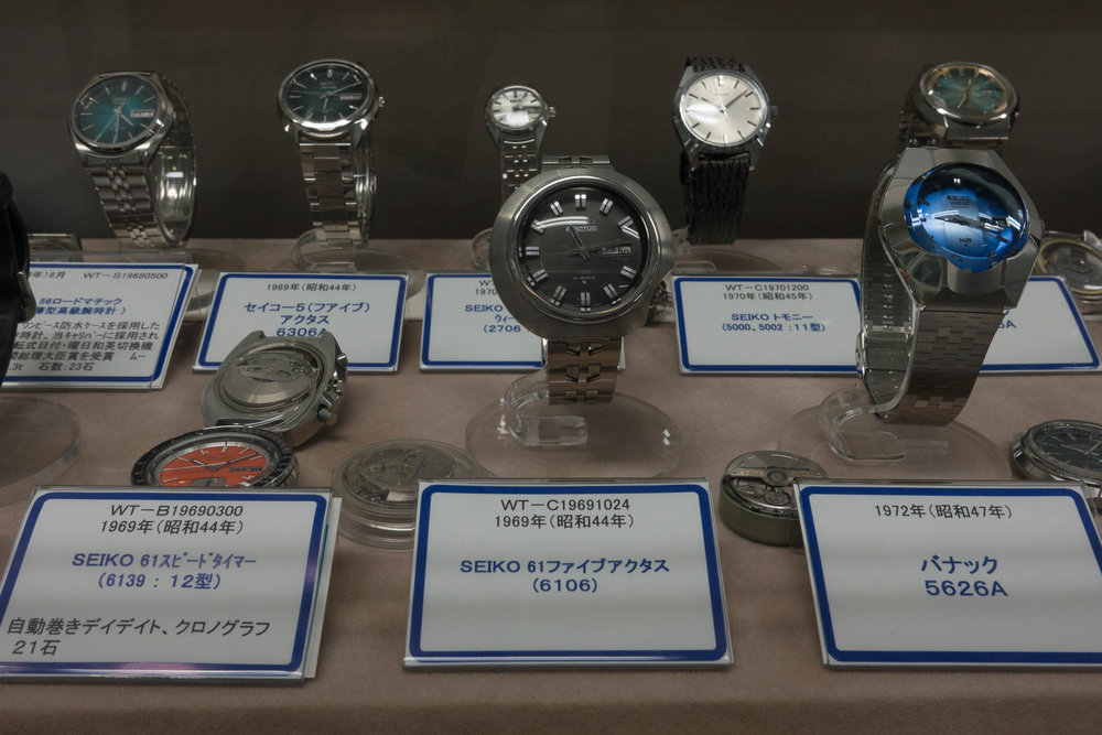 Speedtimer, Five Actus, King Seiko Vanac